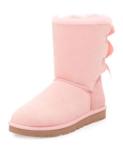 pink ugg boots with bows pink bailey bow uggs sale mount mercy