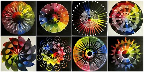color wheel mandalas looks complicated but it is not they flickr
