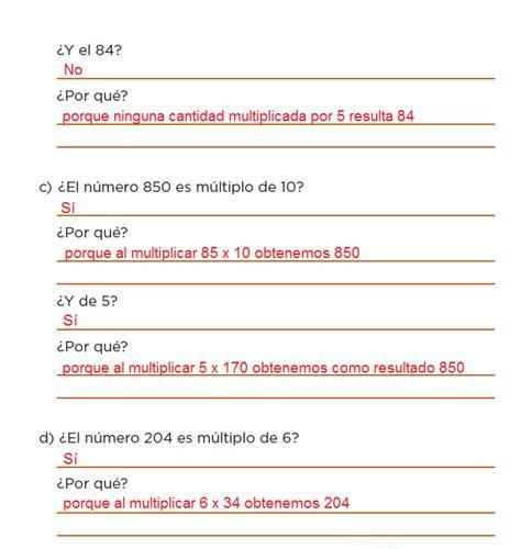 respuestas del libro de 6 en matematicas bloque 4 paginas de matematicas contestadas