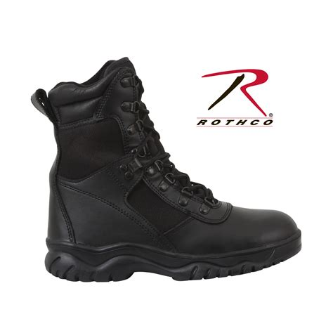 rothco boots rothco 5052 forced entry waterproof tactical boot black