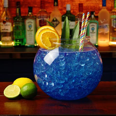 giant cocktail xl 5 litre plastic cocktail fish bowl sharer at drinkstuff