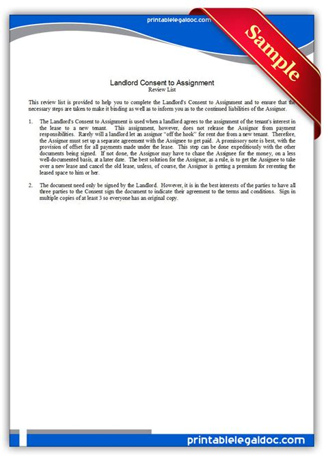 Directv Permission Letter Landlord Free Printable Landlord Forms Search Engine At