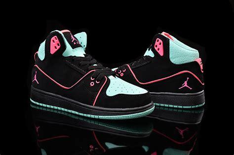 nike air 1 flight 2 shoes black pink
