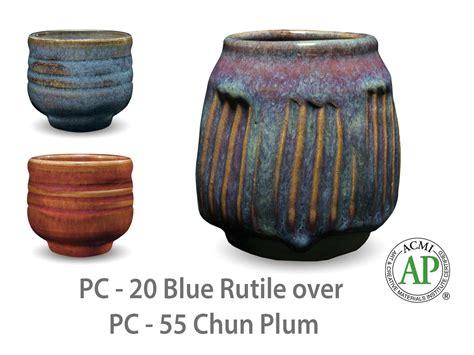 amaco glazes amaco potter s choice layered glazes pc 55 chun plum and