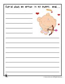 valentines writing activities valentine s day printable story starters story