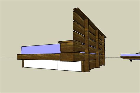 How To Make A Platform Bed With Drawers by Building A Platform Bed Frame With Drawers Woodworking