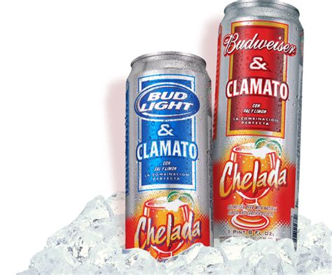 Clamato Bud Light by Seen Through A Glass Chelada Bud Light With Clamato
