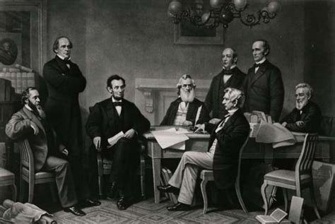 Abraham Lincoln Cabinet Members List by Lincoln S Washington Historical Society Of Washington Dc