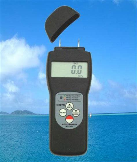 alat kadar air untuk kayu wood moisture meter seri mc 7825p