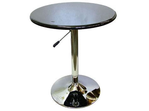 kitchen table with lazy susan lazy susan adjustable bar kitchen patio table in black ebay