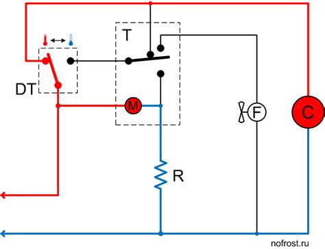 wiring diagram of no refrigerator diagram free