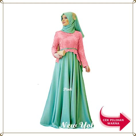 1 Kebaya Maxi Dress maxi yolanda 2in1 dress kebaya lengan