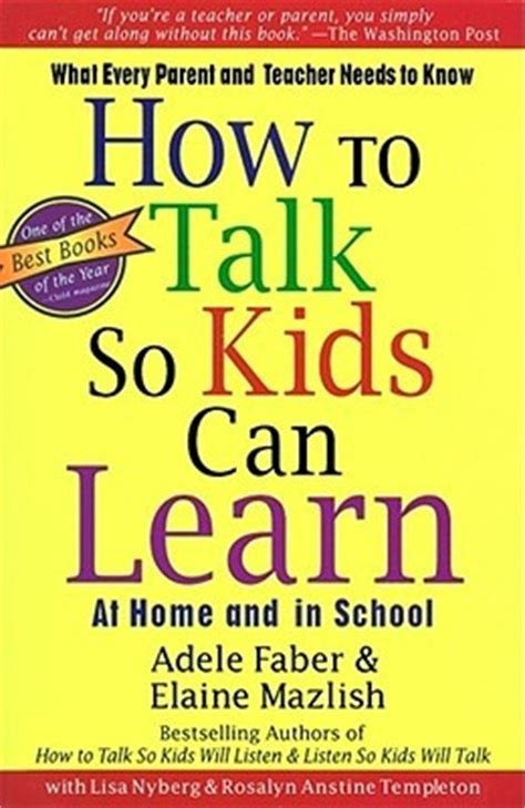 so you want to talk about race books how to talk so can learn by adele faber reviews