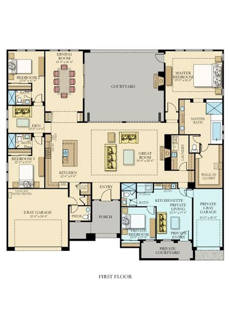 House Plans With Rental Suites by Lennar Homes Plans Awesome 2198 Best Floor Plans Images On