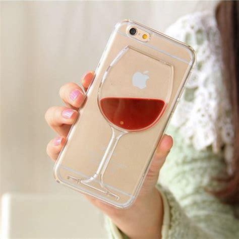 Hardcase Transparan Casing Hp Iphone 6 Gelas Wine wine glass liquid phone for iphone 4 4s