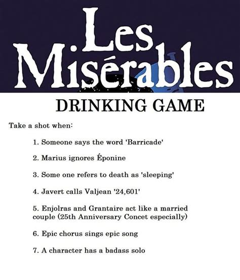 Drinking Game Memes - les miserables meme deviantart image memes at relatably com