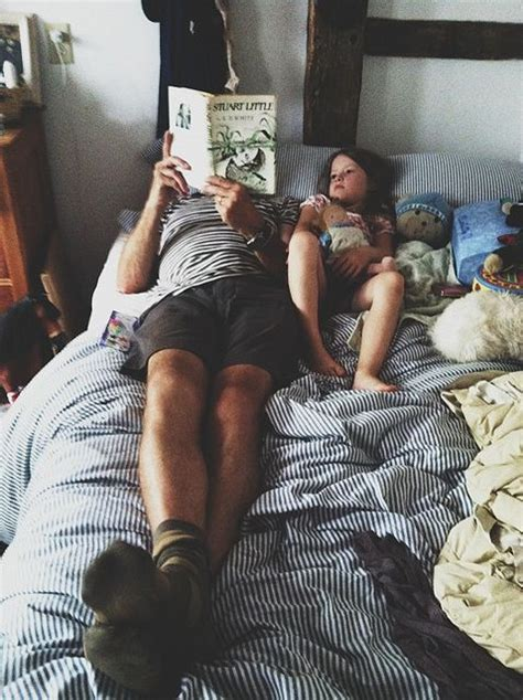 in daddys bed read to your children story inspiration pinterest