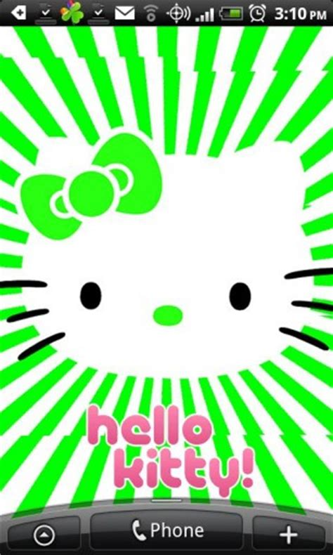 live wallpaper hello kitty android hello kitty live wallpaper app for android