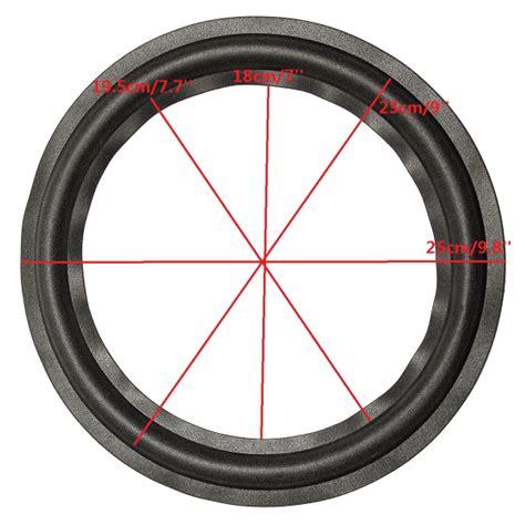 Speaker Black Spider 10 Inch black 10 inch speaker surround decorative circle repair foam for bass woofer sale banggood
