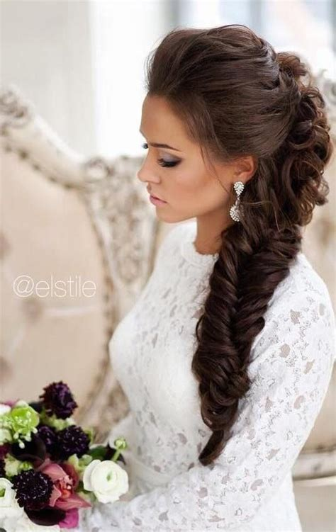 Wedding Hair With A Braid by 10 Pretty Braided Wedding Hairstyles Crazyforus