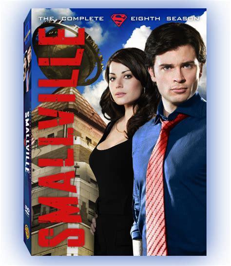 Smallville Season 8 smallville season 8 dvd cover by hollisterco on deviantart