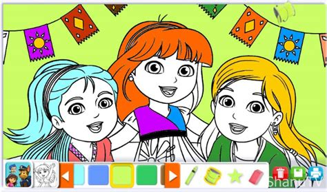 Dora Coloring Book Games Coloring Pages