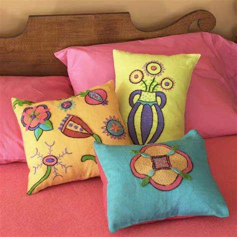 colorful bed pillows book review colorful stitchery by kristin nicholas mr