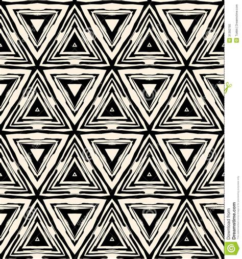 1930s Style Home Decor by 1930s Art Deco Geometric Pattern With Triangles Stock