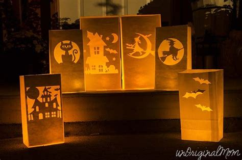 How To Make Paper Bag Luminaries - 10 awesome silhouette project ideas