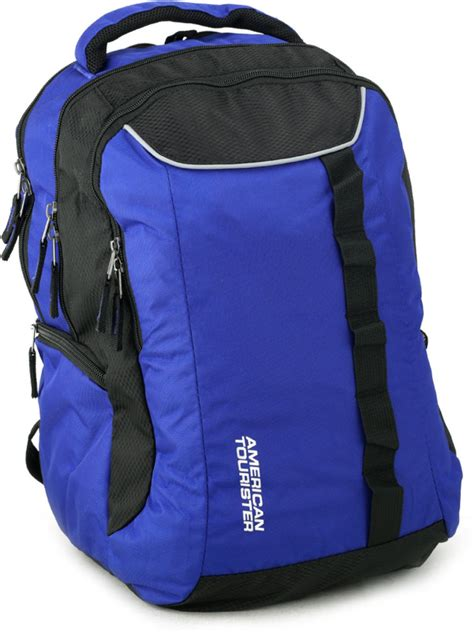 Tas Laptop American Tourister american tourister buzz 12 laptop backpack blue and black price in india flipkart