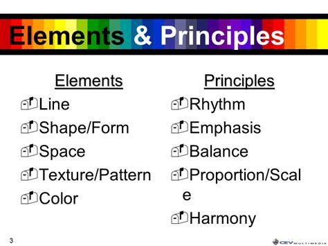 design elements and principles quiz design principles and elements images diagram writing