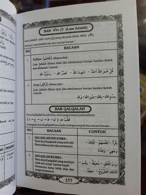 Al Quran Terjemah Tajwid Resleting al qur an saku dan ilmu tajwid resleting ma sum toko
