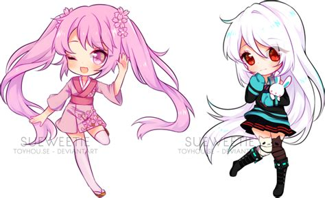 anime chibi chibi batch 9 speedpaint by sueweetie on deviantart