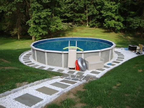 Backyard Above Ground Pool Ideas 450 Best Images About Backyard Idea On Backyards Herman Miller And Ideas Magazine