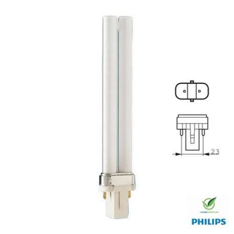 Lu Philips Pl S 9w energy saving l pl s 9w 2p 830 philips master 260840
