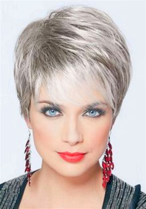 short haircut for woman over 60 round fce 20 short spiky hairstyles for women short hairstyle