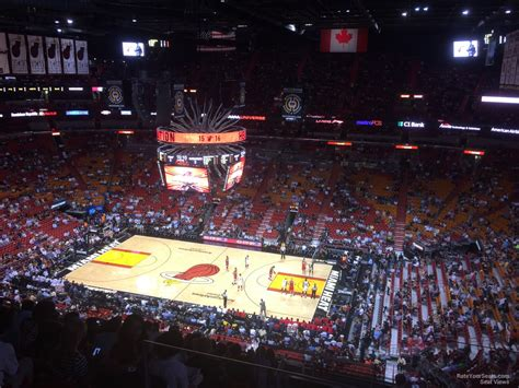 section 324 american airlines arena americanairlines arena section 307 miami heat