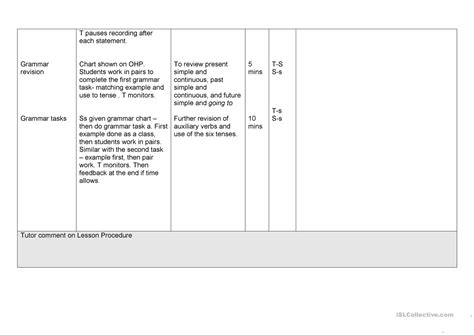Celta Lesson Plan Template by Writing Lesson Plan Celta