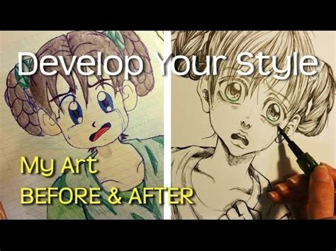 Finde Deinen Style by How To Develop Your Own Drawing Style My Before And