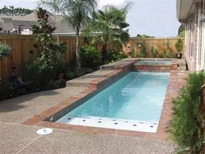 Small Pool Designs For Small Backyards Pool Design Concept