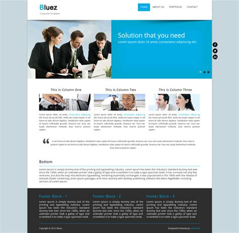 drupal themes website 15 free drupal themes for a great website ewebdesign