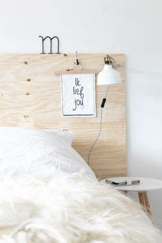 headboard fixed to wall 1000 ideas about plywood headboard on pinterest plywood