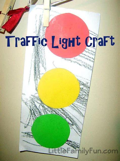 little family fun shape house educational craft little family fun red light green light