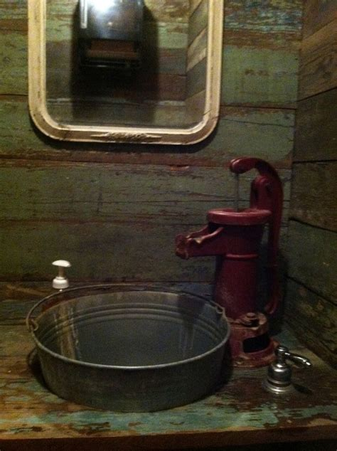 bucket sink ideas  pinterest farmhouse utility