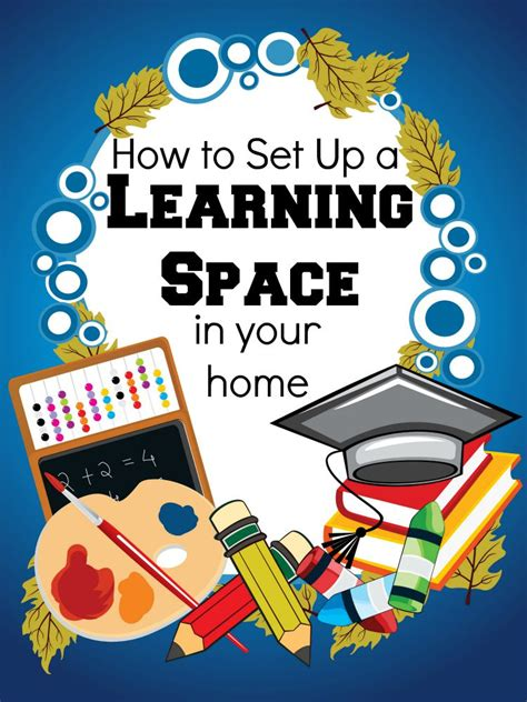 how to set up a learning space day by day in our world