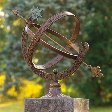 bronze messing sonnenuhr bronze messing 48cm eliassen home garden