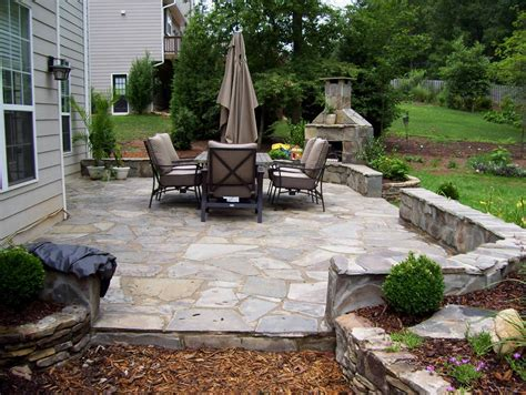 stone backyard patio new ideas stone patio fireplace outdoor stone fireplace