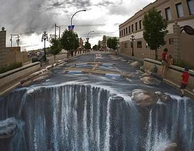art blog graffiti illusion