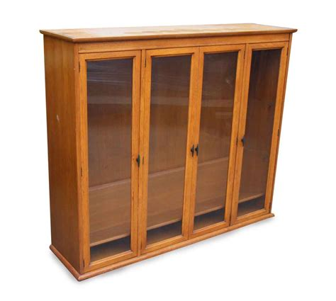 Antique Hutch With Glass Doors by Hutch With Glass Doors Olde Things