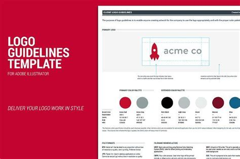Best 25 Logo Guidelines Ideas On Pinterest Brand Guidelines Design Brand Guidelines And Brand Identity Guidelines Template